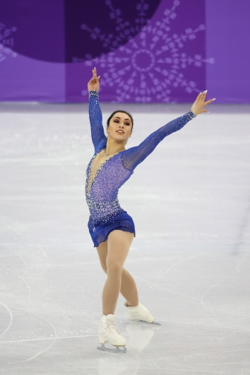 Gabrielle Daleman skated to a 3rd place finish in the Ladies' free program. (Photo: Greg Kolz)