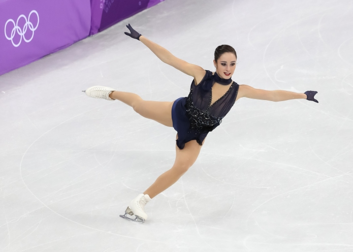 Canada's Kaetlyn Osmond performs her Short Program during the Figure Skating Team Event at Gangneung Ice Arena. (Photo: Greg Kolz)