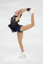 Kaetlyn Osmond, the pride of Marystown, NL, during the Figure Skating Team Event. (Photo: Greg Kolz)