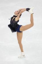 Kaetlyn Osmond, the pride of Marystown, NL, during the Figure Skating Team Event. (Photo: Greg Kolz)