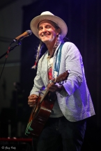 Steve Poltz performing at RBC Ottawa Bluesfest on July 4, 2019.