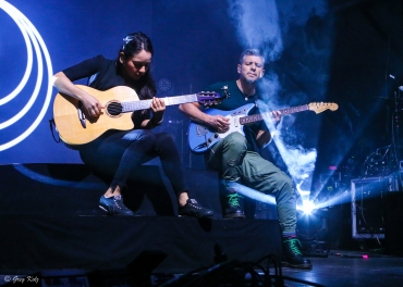Rodrigo Y Gabriela performing at RBC Ottawa Bluesfest on July 5, 2019.
