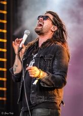Taking Back Sunday performing at RBC Ottawa Bluesfest on July 6, 2019. PHOTO: Greg Kolz