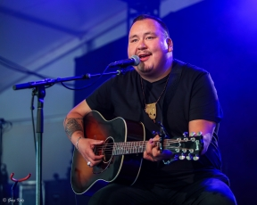 William Prince performing at RBC Ottawa Bluesfest on July 7, 2019. Photo by Greg Kolz / Bluesfest