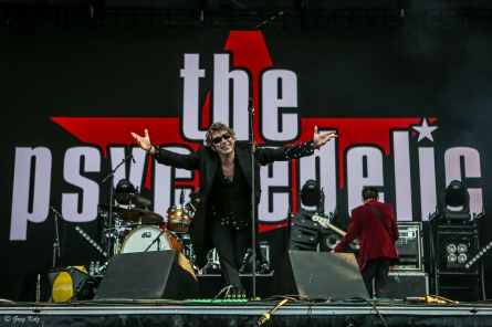 The Psychedelic Furs performing at RBC Ottawa Bluesfest on July 7, 2019.