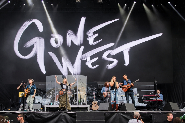 Gone West performing at RBC Ottawa Bluesfest on July 11, 2019. Photo by Greg Kolz / Bluesfest