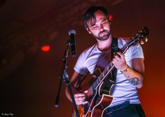 Shakey Graves performing at RBC Ottawa Bluesfest on July 11, 2019. Photo by Greg Kolz / Bluesfest