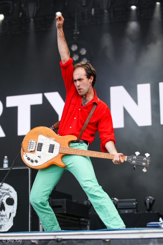 The Dirty Nil performing at RBC Ottawa Bluesfest on July 12, 2019. Photo by Greg Kolz / Bluesfest
