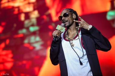 Snoop Dogg performing at RBC Ottawa Bluesfest on July 13, 2019. Photo by Greg Kolz / Bluesfest